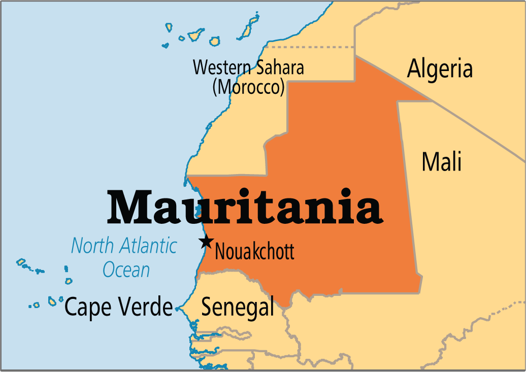 maurtiania map