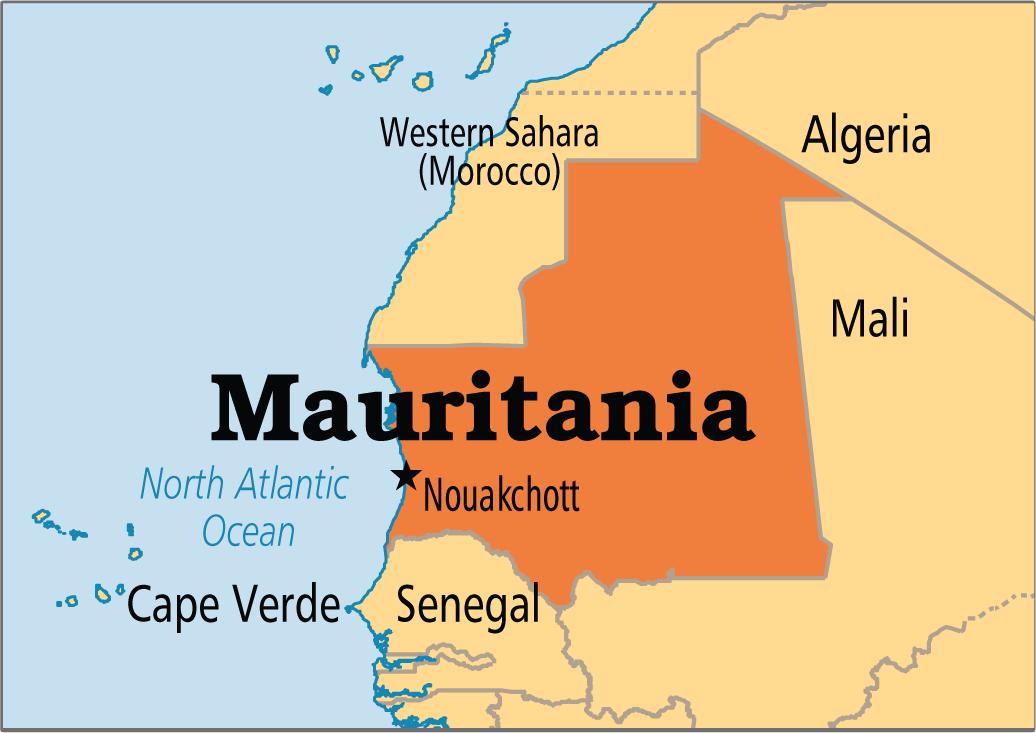 maurtiania map