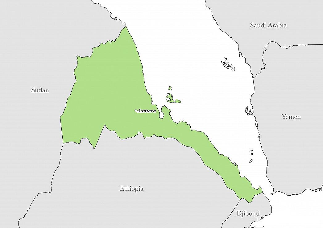 Eritrea Map-NGARA