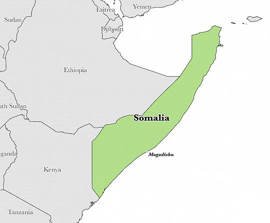 Somaliland Map- NGARA