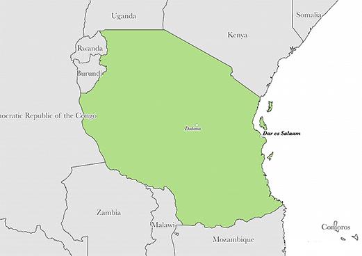 Tanzania-country-map-NGARA