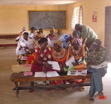Training women on good harvest and post harvest practice