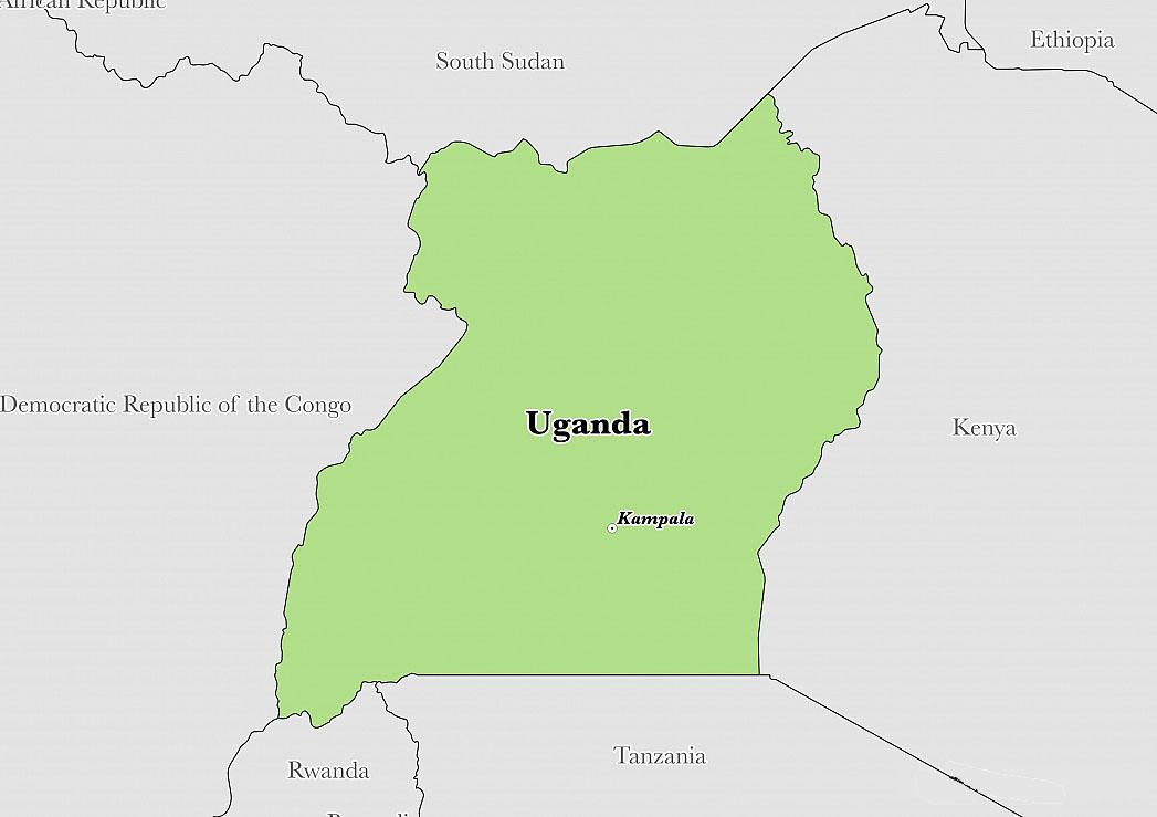 Uganda map-NGARA