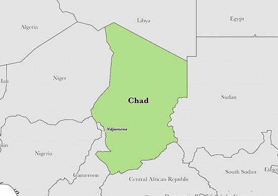 chad map-NGARA